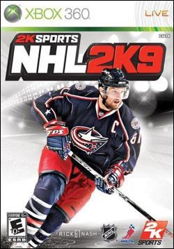 NHL 2K9 (Xbox 360) by 2K Games Box Art