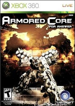 Armored Core: For Answer (Xbox 360) by Ubi Soft Entertainment Box Art