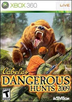 Cabelas Dangerous Hunts 2009 (Xbox 360) by Activision Box Art