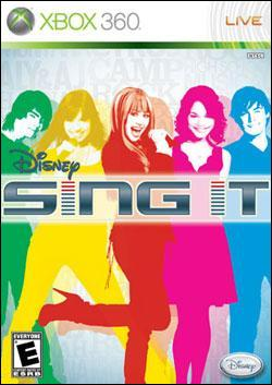 Disney Sing It (Xbox 360) by Disney Interactive / Buena Vista Interactive Box Art