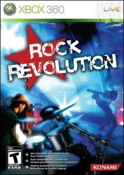 Rock Revolution (Xbox 360) by Konami Box Art
