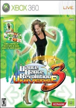 Dance Dance Revolution Universe 3 (Xbox 360) by Konami Box Art