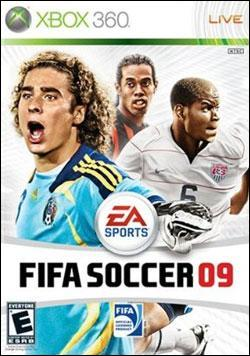 FIFA Soccer 09 (Xbox 360) by Electronic Arts Box Art