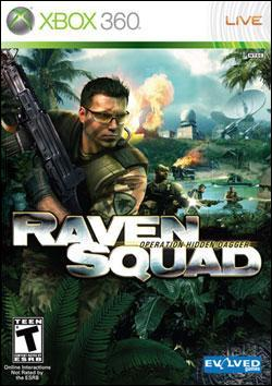 Raven Squad: Hidden Dagger (Xbox 360) by Evolved Games Box Art