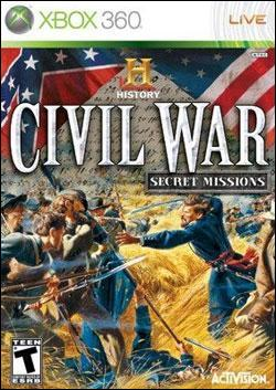 Histroy Channel Civil War: Secret Mission (Xbox 360) by Activision Box Art