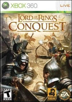 Lord of the Rings: Conquest (Xbox 360) by Electronic Arts Box Art