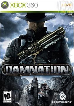 Damnation (Xbox 360) by Codemasters Box Art