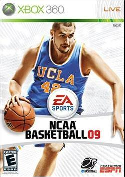 NCAA Basketball 2009 (Xbox 360) by Electronic Arts Box Art