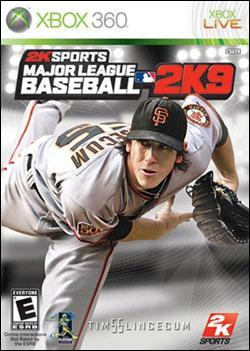 Major League Baseball 2K9 (Xbox 360) by 2K Games Box Art