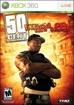 50 Cent: Blood on the Sand (Xbox 360) by THQ Box Art