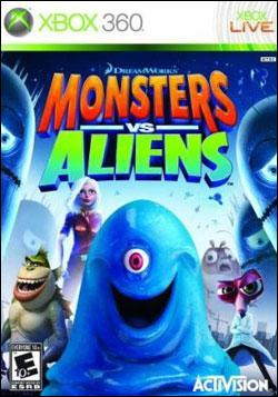 Monsters vs. Aliens (Xbox 360) by Activision Box Art