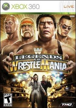 WWE Legends of Wrestlemania (Xbox 360) by THQ Box Art
