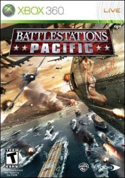Battlestations: Pacific (Xbox 360) by Eidos Box Art
