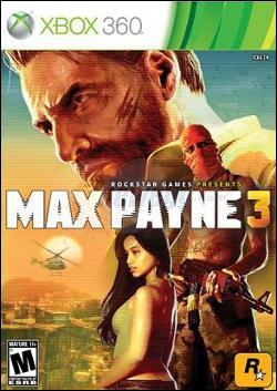 Max Payne 3 (Xbox 360) by Rockstar Games Box Art