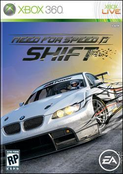 Need For Speed: Shift (Xbox 360) by Electronic Arts Box Art