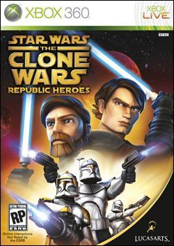 Star Wars The Clone Wars: Republic Heroes (Xbox 360) by LucasArts Box Art