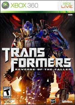 Transformers: Revenge of the Fallen (Xbox 360) by Activision Box Art