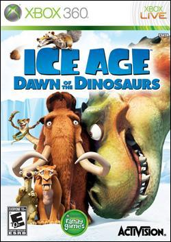 Ice Age: Dawn of the Dinosaurs (Xbox 360) by Activision Box Art