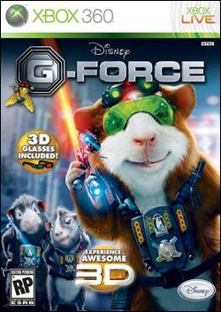 G-Force (Xbox 360) by Activision Box Art