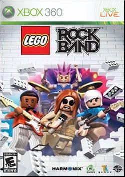 Rock Band: Lego (Xbox 360) by Warner Bros. Interactive Box Art