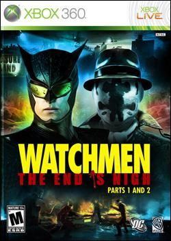 Watchmen: The End is Nigh Part 1 and  2 (Xbox 360) by Warner Bros. Interactive Box Art