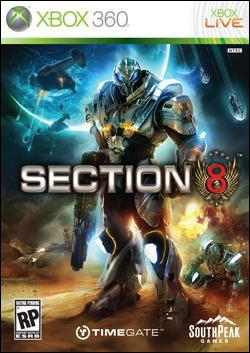 Section 8 (Xbox 360) by Southpeak Interactive Box Art
