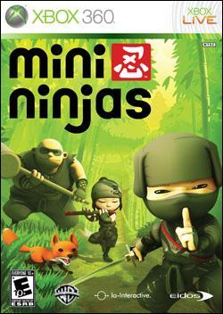 Mini Ninjas (Xbox 360) by Eidos Box Art