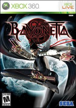 Bayonetta (Xbox 360) by Sega Box Art