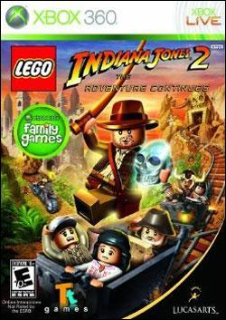 LEGO Indiana Jones 2: The Adventure Continues (Xbox 360) by LucasArts Box Art