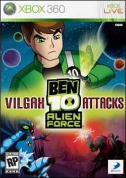 Ben 10 Alien Force: Vilgax Attacks (Xbox 360) by D3 Publisher Box Art
