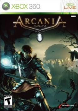 Arcania - Gothic 4 (Xbox 360) by Dreamcatcher Games Box Art