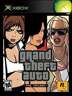 Grand Theft Auto: The Trilogy (Xbox) by Rockstar Games Box Art