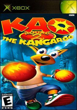 Kao the Kangaroo: Round 2 (Xbox) by Atari Box Art