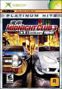 Midnight Club 3: Dub Edition Remix (Xbox) by Rockstar Games Box Art