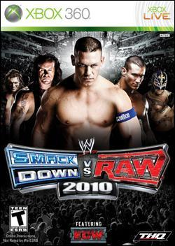 WWE Smackdown vs Raw 2010 (Xbox 360) by THQ Box Art