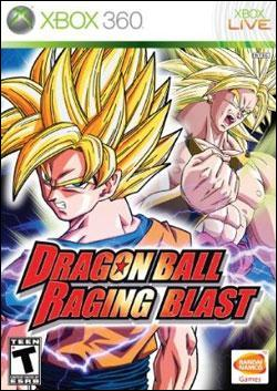 Dragon Ball: Raging Blast (Xbox 360) by Namco Bandai Box Art