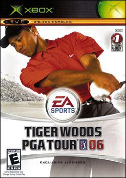 Tiger Woods Pga Tour 06 (Xbox) by Electronic Arts Box Art