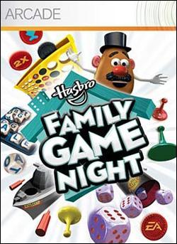 Hasbro Family Game Night (Xbox 360 Arcade) by Electronic Arts Box Art