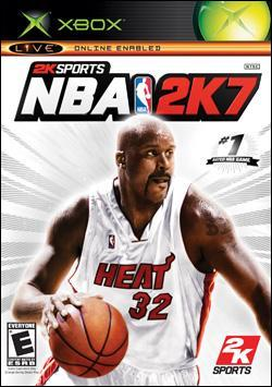 NBA 2K7 (Xbox) by 2K Games Box Art