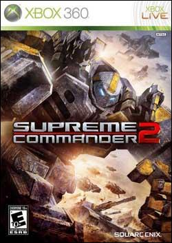 Supreme Commander 2 (Xbox 360) by Square Enix Box Art
