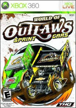 World of Outlaws: Sprint Cars (Xbox 360) by THQ Box Art
