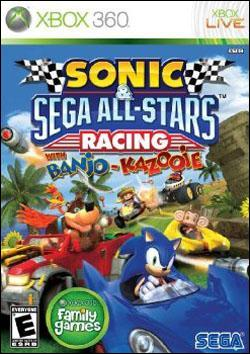 Sonic & Sega All-Stars Racing   (Xbox 360) by Sega Box Art
