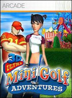 3D Ultra Mini Golf Adventures (Xbox 360 Arcade) by Microsoft Box Art