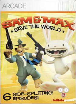 Sam & Max Save the World (Xbox 360 Arcade) by Microsoft Box Art