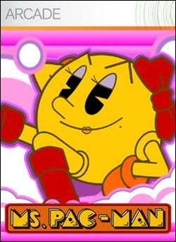 Ms. Pac-Man (Xbox 360 Arcade) by Namco Bandai Box Art