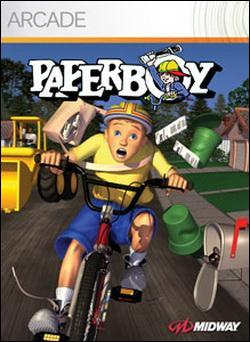 Paperboy (Xbox 360 Arcade) by Midway Home Entertainment Box Art