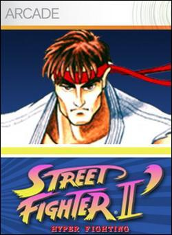 Street Fighter II: Hyper Fighting (Xbox 360 Arcade) by Capcom Box Art