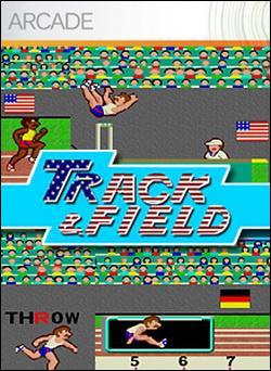 Track & Field (Xbox 360 Arcade) by Konami Box Art