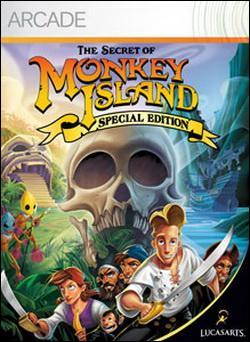 The Secret of Monkey Island: Special Edition (Xbox 360 Arcade) by LucasArts Box Art