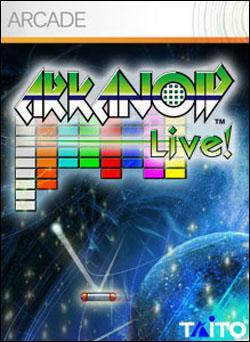 Arkanoid Live! (Xbox 360 Arcade) by Microsoft Box Art